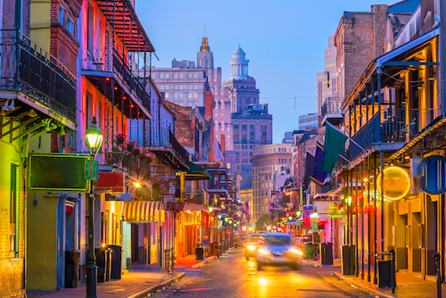 Image of New Orleans, French Quarter, Shutterstock